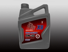 纯酯合成发动机油X8 0W/30