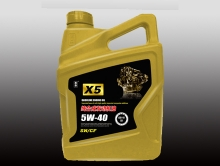 纯合成发动机油X5 5W/40